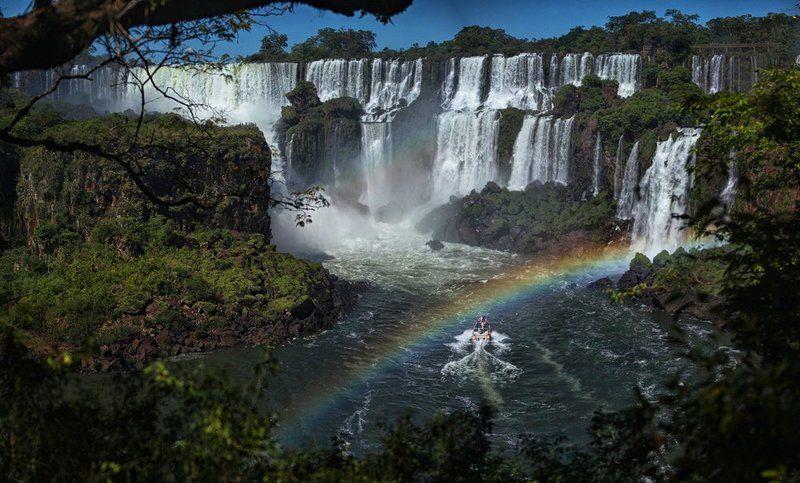 игуасу, водопад, аргентина, национальный парк, iguassu Iguassuphoto preview