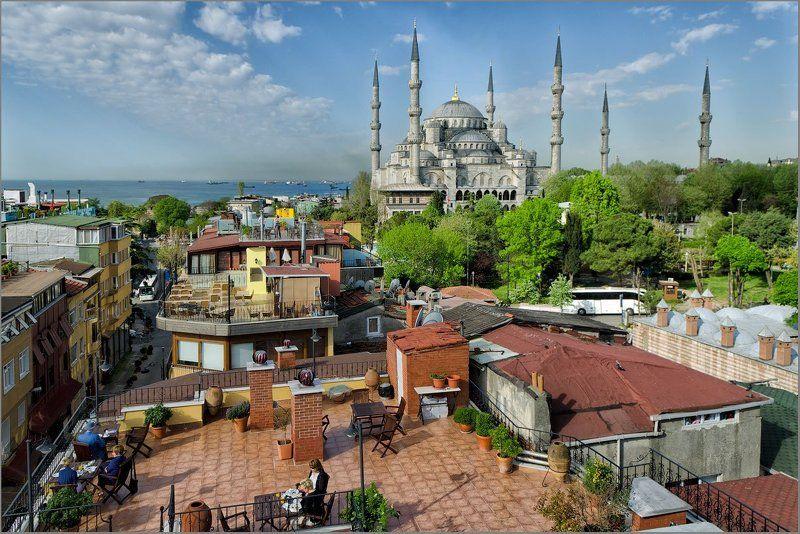 стамбул, istanbul,голубая мечеть,sultanahmet camii Из жизни Карлсонов )photo preview