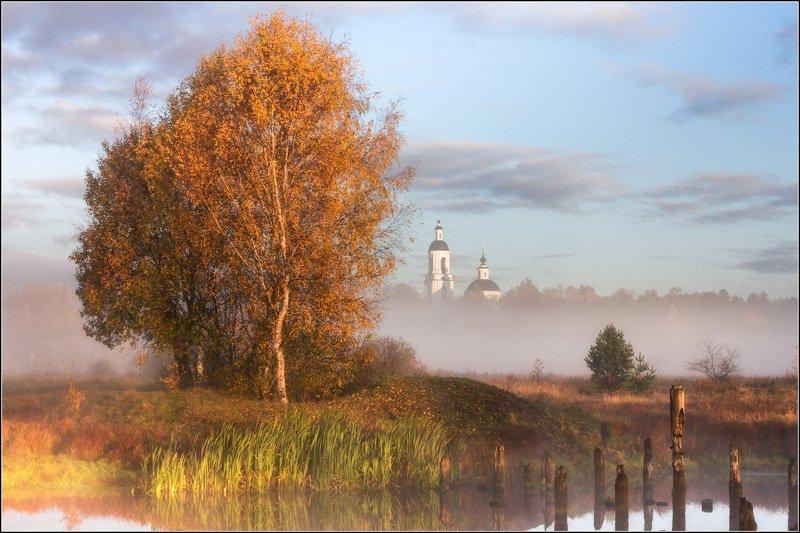 россия, владимирская обл, филипповское Осень, октябрь - пора золотаяphoto preview