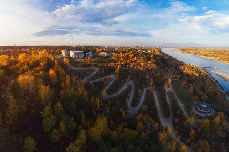 барнаул, алтай Теплый октябрь в Барнаулеphoto preview