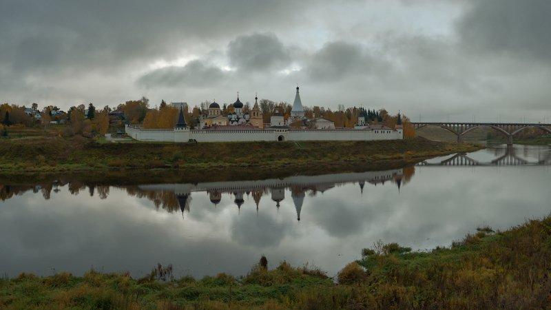 старица, осень, непогода, провинция Старица. Октябрь 2019photo preview