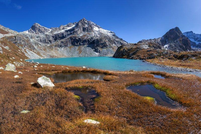 кчр,клухорское озеро,горы ,горные озера,клухорский перевал,клухор Клухорское озероphoto preview