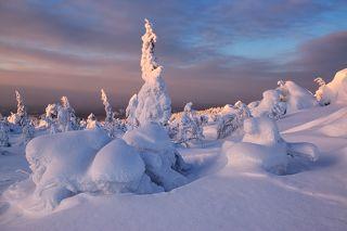Зима в Кандалакше