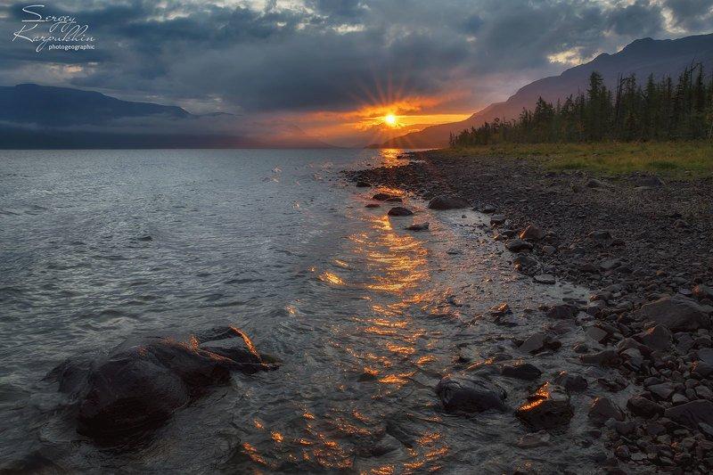 путораны, плато путорана Утро в Путоранахphoto preview