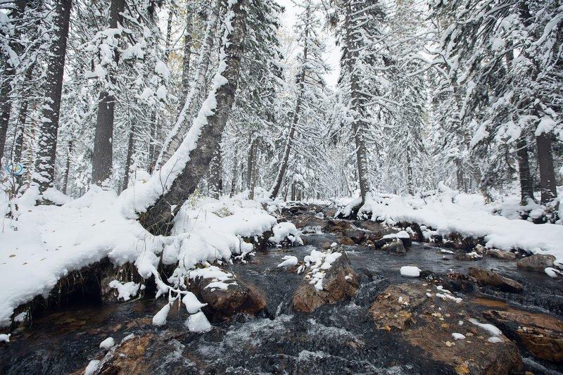 Первый снег на Иремелеphoto preview