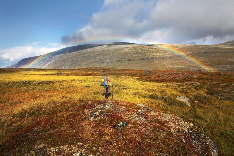 сарек, радуга, арктика, sarek, norrbotten,  Радуга в Арктикеphoto preview