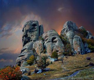 Сфинкс на Демерджи в Крыму