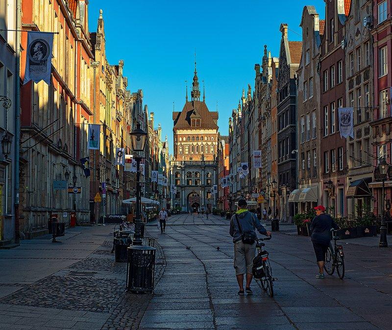 gdansk, poland, гданьск, польша [złota brama]photo preview