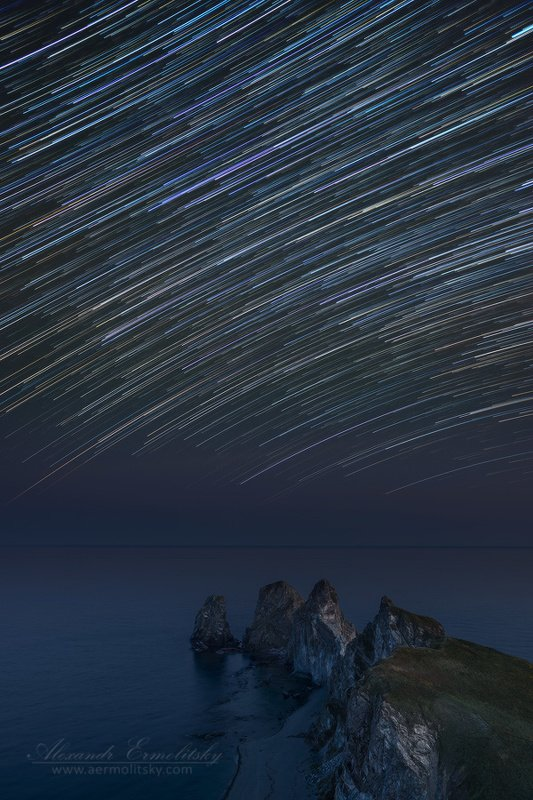приморье, primorje, приморский край, primorsky krai, дальний восток, far east, мыс четырёх скал ~ Звёздный дождь ~photo preview