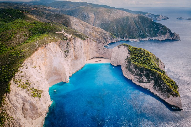 Греция, о. Закинф, пляж Навайоphoto preview