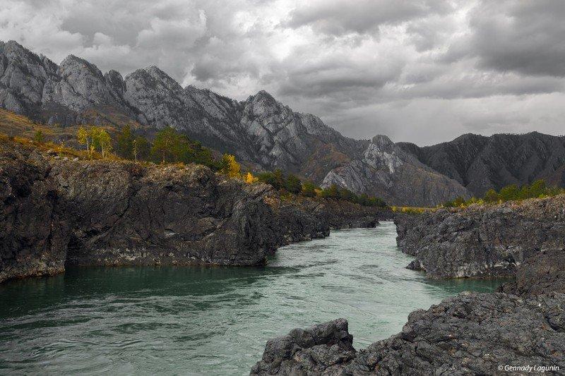 алтай, altai, осень, autumn, горы, mountains, Непогодаphoto preview