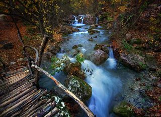 Горный ручеёк в Крыму