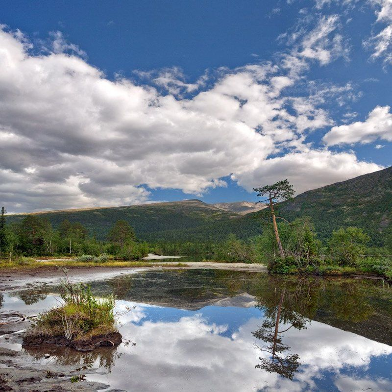 хибины., озеро, щучье Хибины. Озеро Щучьеphoto preview