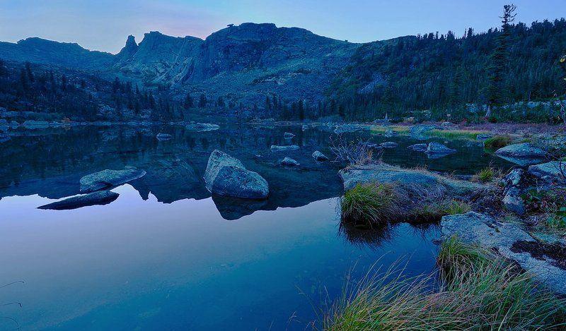ночь на озере.photo preview