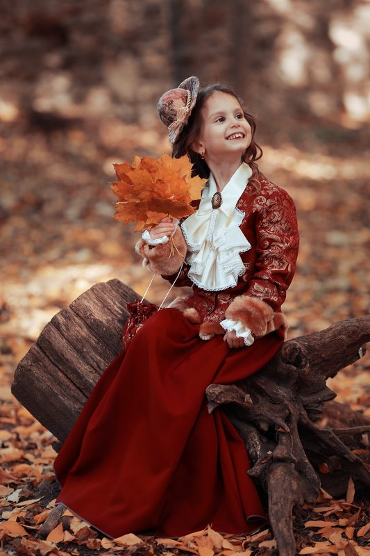 Валентина и осень.photo preview