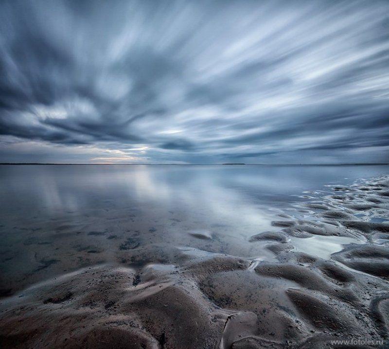 север, море Летняя ночьphoto preview