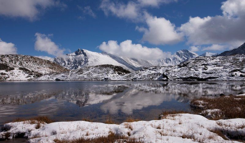алтай, горный алтай, горы, пейзаж, осень В долине Семи озёрphoto preview
