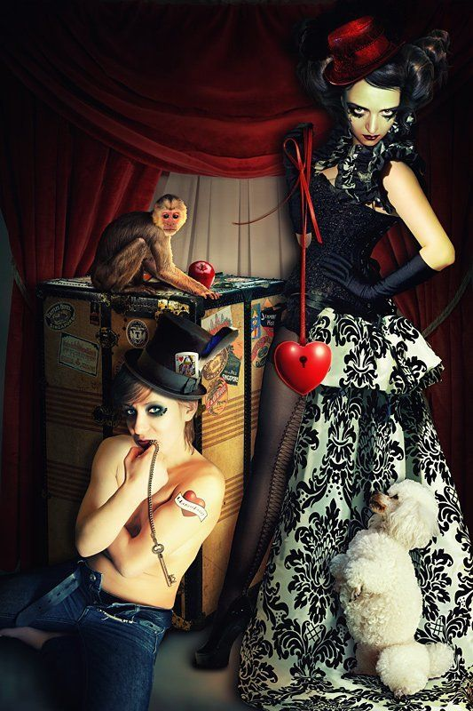 коллаж, фотоарт, фотошоп, цирк Not a circus!photo preview