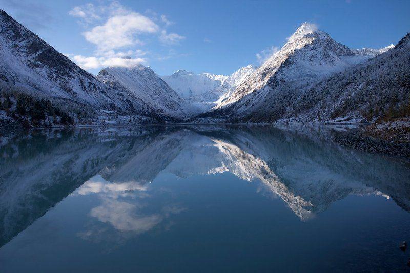 горы, горный алтай, алтай, пейзаж Зазеркальеphoto preview