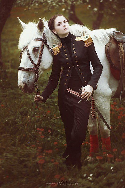 лошадь, солдат Кавалеристphoto preview