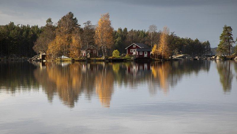 швеция Осенний островокphoto preview
