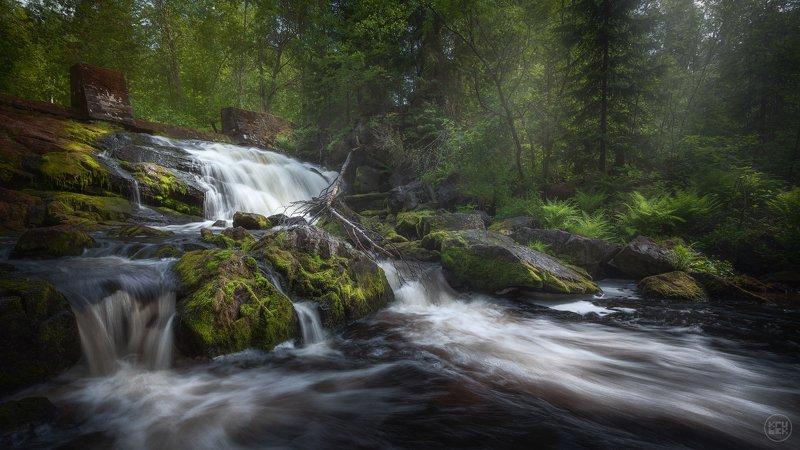 карелия, водопад, пейзаж Прокинкоскиphoto preview