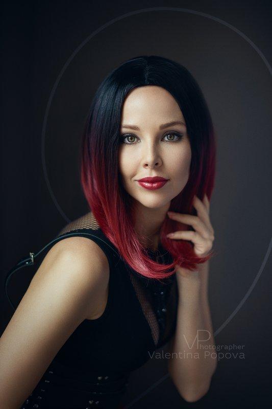 женщина, портрет, арт, классический портрет, девушка, цвет Ритаphoto preview