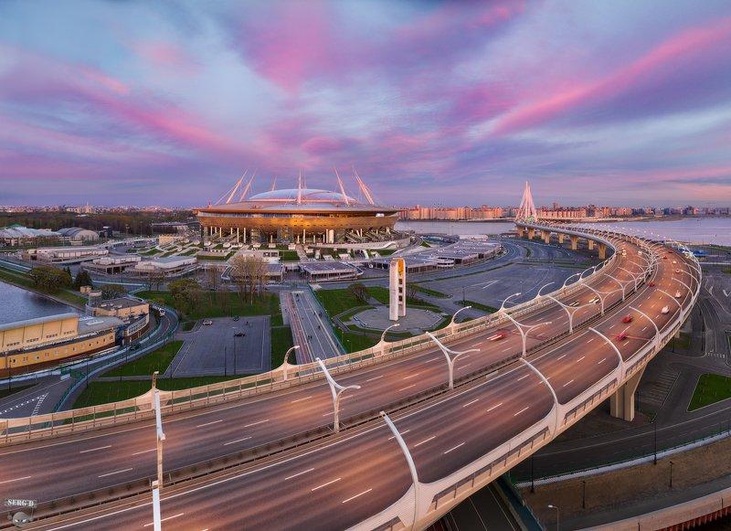 Стадион Газпром Арена, ЗСДphoto preview