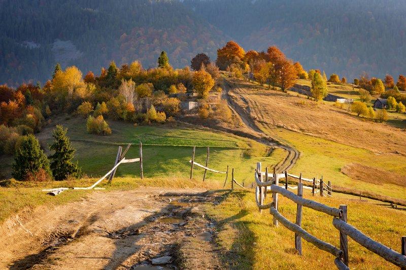 карпаты. осень Карпатскими дорогамиphoto preview