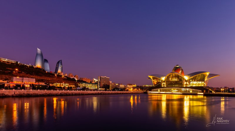 Flame Towers and Caspian Waterfront Shopping Mallphoto preview