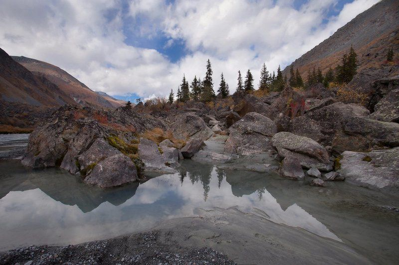 алтай, горный алтай, горы, пейзаж, осень Алтайский пейзажphoto preview