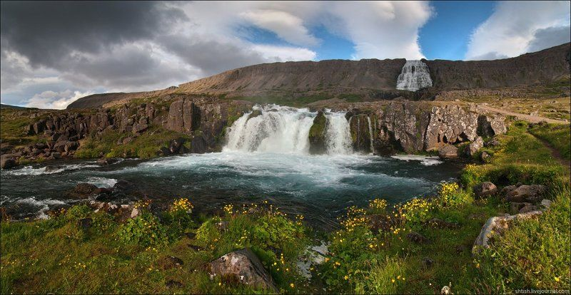 исландия Dynjandiphoto preview