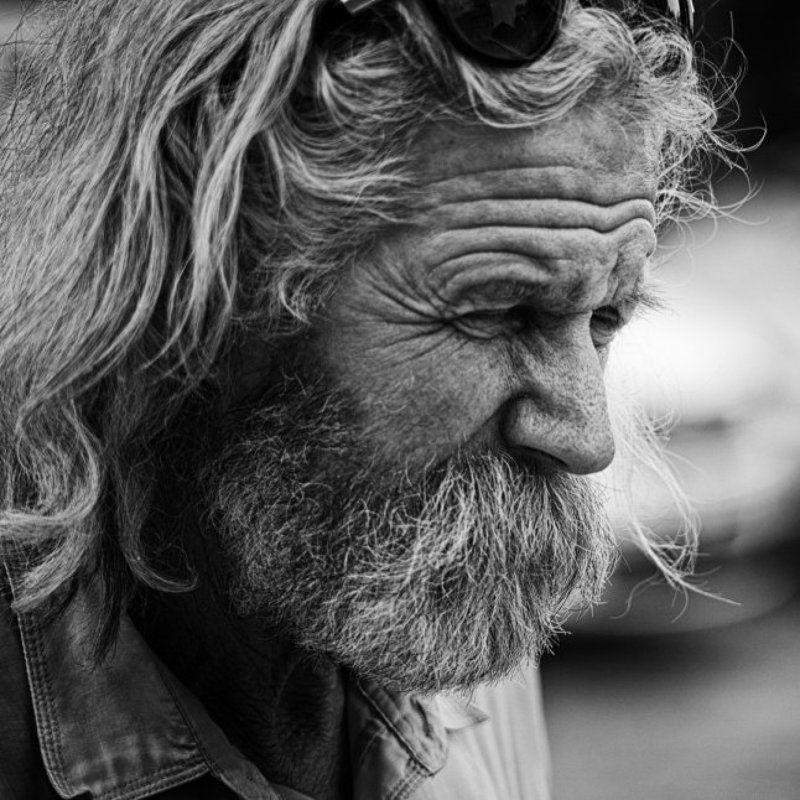 человек, чб, портрет человек городаphoto preview