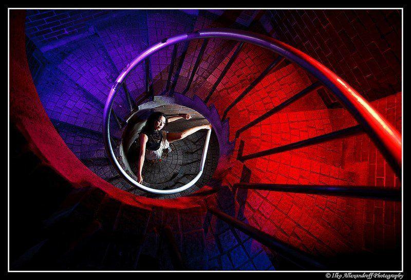 strobist, japanese, portrait Colorful Spiralphoto preview