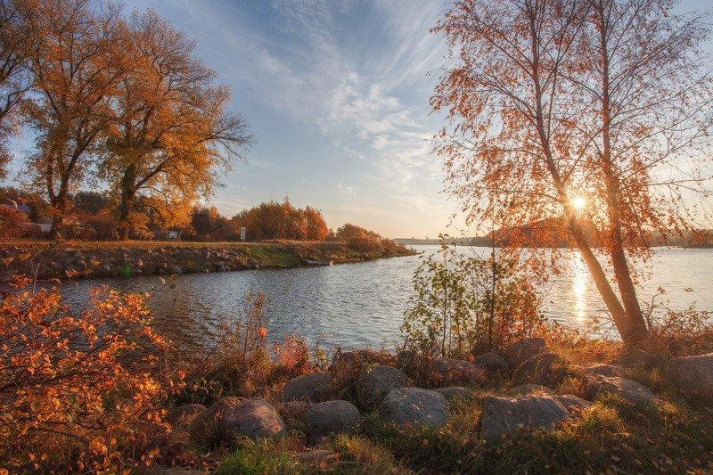 осень, тепло, минск, беларусь, свислочь, листва Тепло осениphoto preview