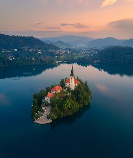 Блед. Словения.
