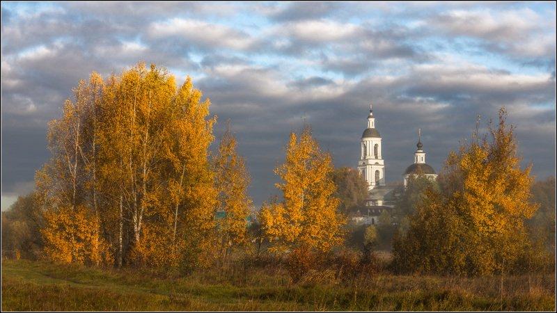 россия, владимирская обл, филипповское Уж небо осенью дышалоphoto preview