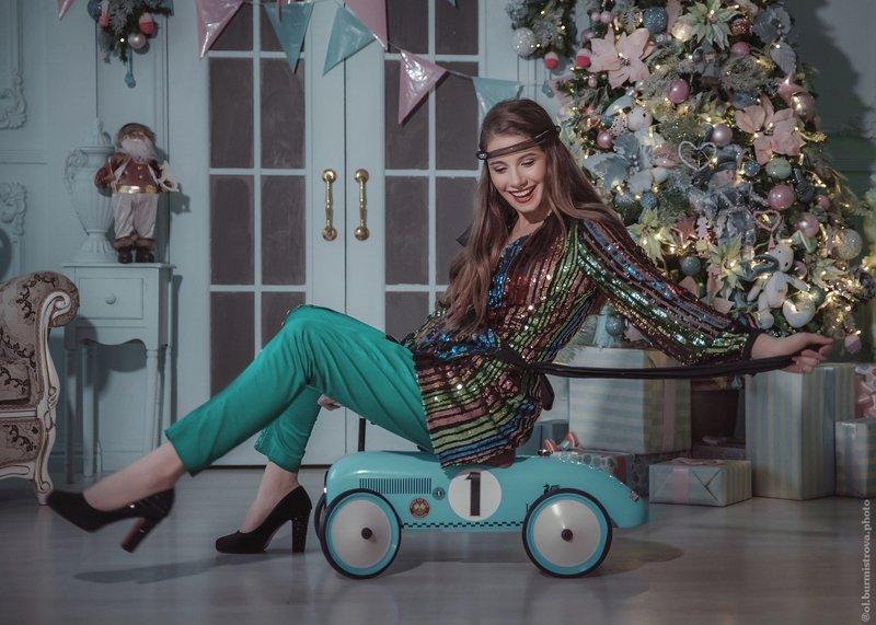 новый год, модный образ, новогодний наряд, диско Дискоphoto preview