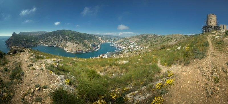 крым, природа, весна, горы, море Балаклаваphoto preview