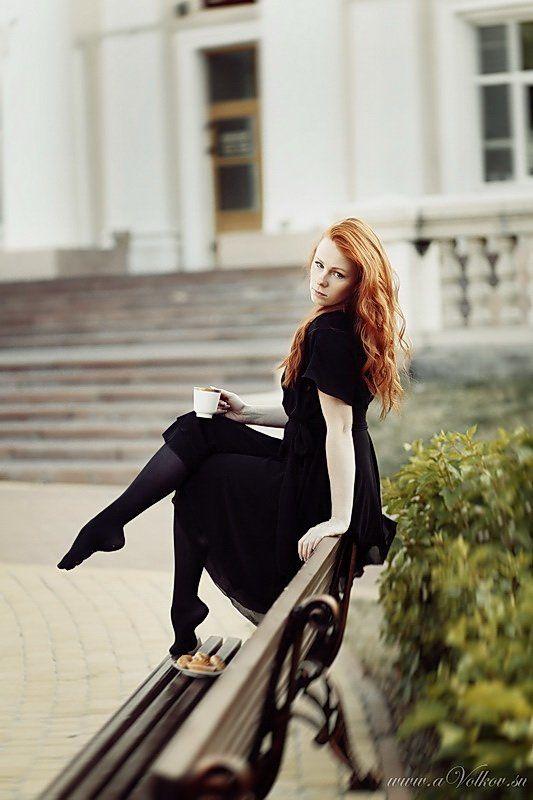утро, девушка, кофе Morning coffephoto preview