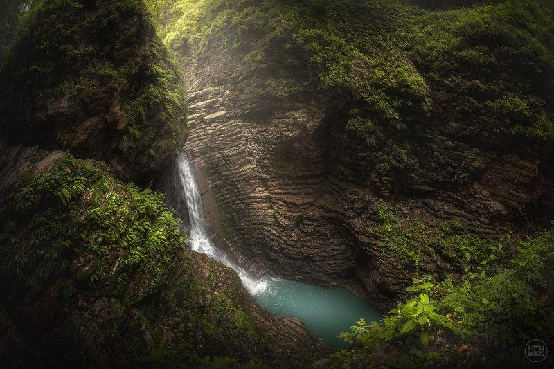 водопад, адыгея, руфабго Сердце Руфабгоphoto preview