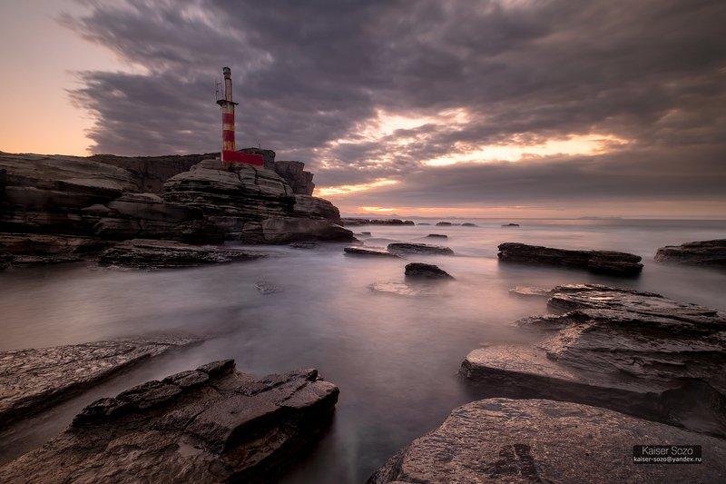 россия, приморье, владивосток, остров русский, мыс тобизина Старый маякphoto preview