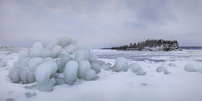 Зимняя Ладога, зима на ладожских шхерах, фототур, ленинградская область \
