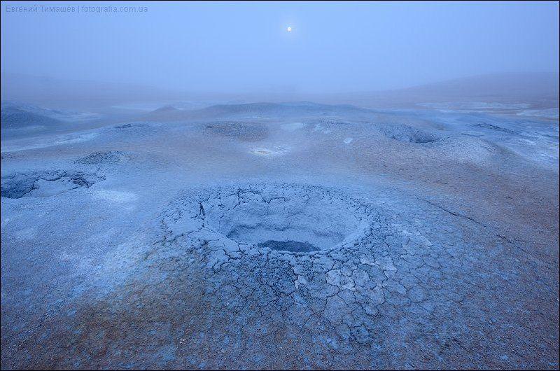 Восход луны в Исландииphoto preview