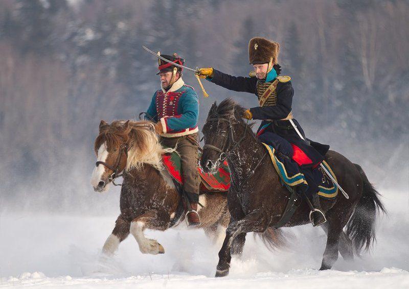 реконструкция, россия Зима 1812-гоphoto preview
