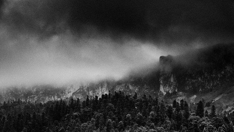 Буря. Кавказ.photo preview