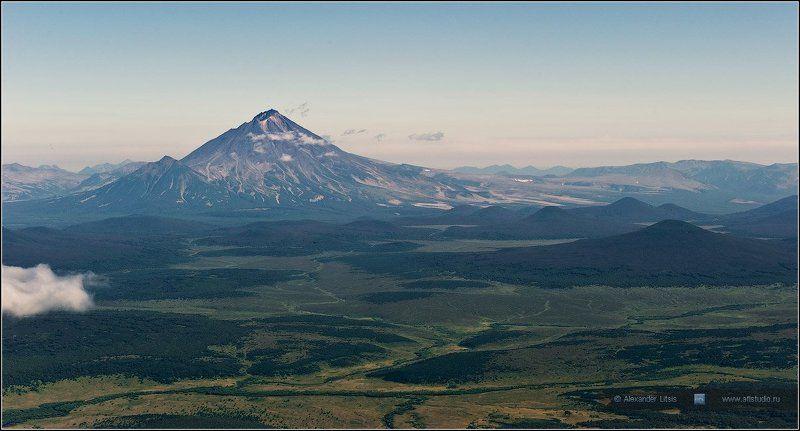 вулкан, ходутка, камчатка, горы, долина Ходуткаphoto preview