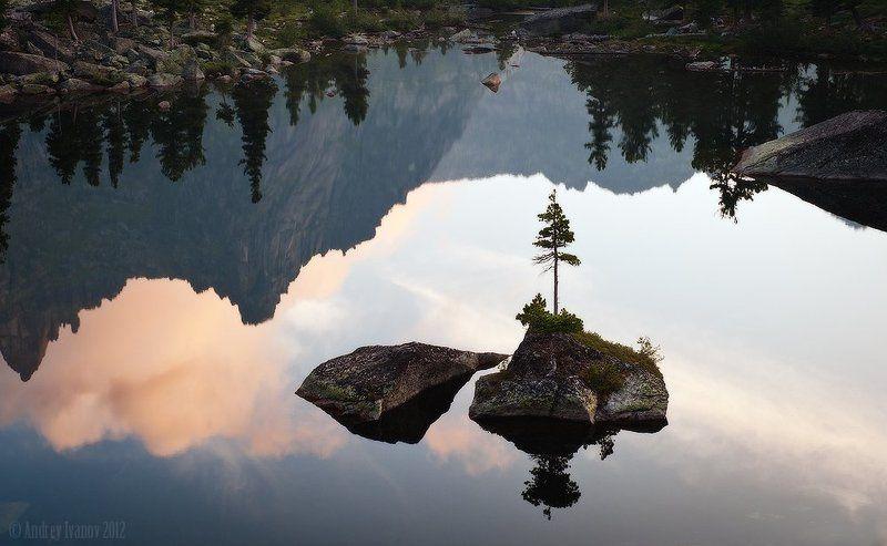 саяны, ергаки, озеро художников ***photo preview