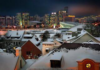 Старинные крыши города...
