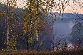 На пороге осень